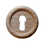 Large Oak Keyhole Cover