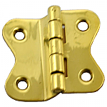 Brass Offset Hoosier Butterfly Hinge