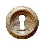 Oak Beehive Keyhole Cover