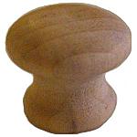 Small Hardwood Knob