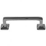 Large Nickel Hoosier Cabinet Drawer Pull