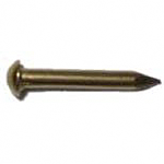 Brass Plated Escutcheon Pins
