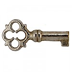 Miniature Chest Lock or Keepsake Key