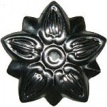 Small Steel Flower Trunk Ornament