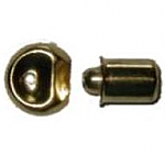 Small Spring Loaded Brass Bullet Catch