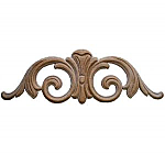 Oak Wood Embossed Applique