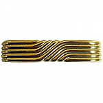 Art Deco Brass Drawer Pull