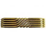Art Deco Brass Drawer Pull
