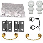 Pie Safe Cabinet Hardware Kit