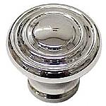 Art Deco Nickel Knob
