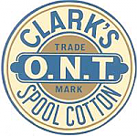 Clark's Spool Cabinet Decal
