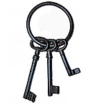 Cast Iron Jailers Key Set