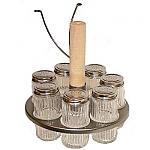 Carousel & Spice Jar Set