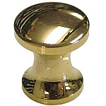 Extra Small Cast Brass Knob