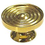 Machined Brass Knob