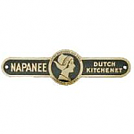 Napanee Coppes & Zook Label - Nappanee, IN