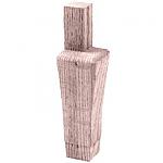 Oak Hoosier Cabinet Leg