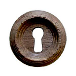 Walnut Beehive Keyhole Cover