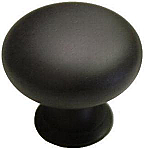 Bulbous Oil Rubbed Bronze Cabinet Knob