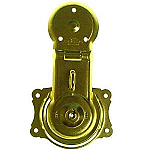 Long Brass Trunk Lock