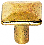 Small Arts & Crafts Mission Brass Knob
