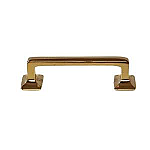 Brass Square Corner Mission Handle