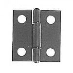 Zinc Plated Steel Pie Safe Butt Hinge Pair