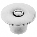 Nickel Hoosier Drawer Knob