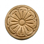 Circular Rosette Center Applique