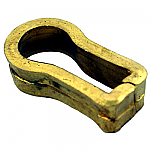 Solid Brass Keyhole Insert Liner