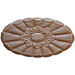 Oak Wood Embossed Gingerbread Applique