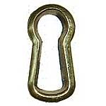 Cast Brass Keyhole Insert