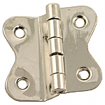 Nickel Hoosier Butterfly Hinge