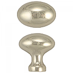 Nickel Oval Hoosier Knob