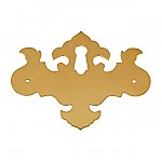 Chippendale Brass Keyhole Cover