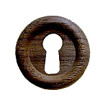 Small Walnut Keyhole Cover