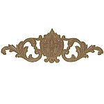 Fleur De Lis Center With Scroll Onlay