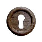 Large Walnut Keyhole Cover
