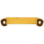 Flat Brass Tambour Door Roll Lift